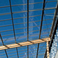 Glazen dak nieuwe Gelinckschool