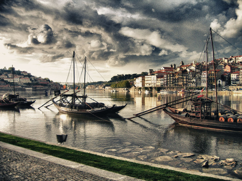 Porto - Zicht op Porto