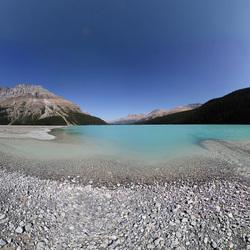 Peyto Lake Lakeshore