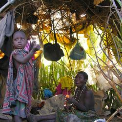 Bushmen in Tanzania