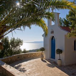 St. Christophoros kapel, Mouikis Sun Village, Kefelonia, Greece