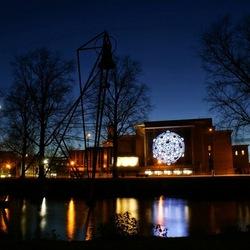 Arnhem in het blauwe uurtje