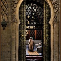 Into prayer