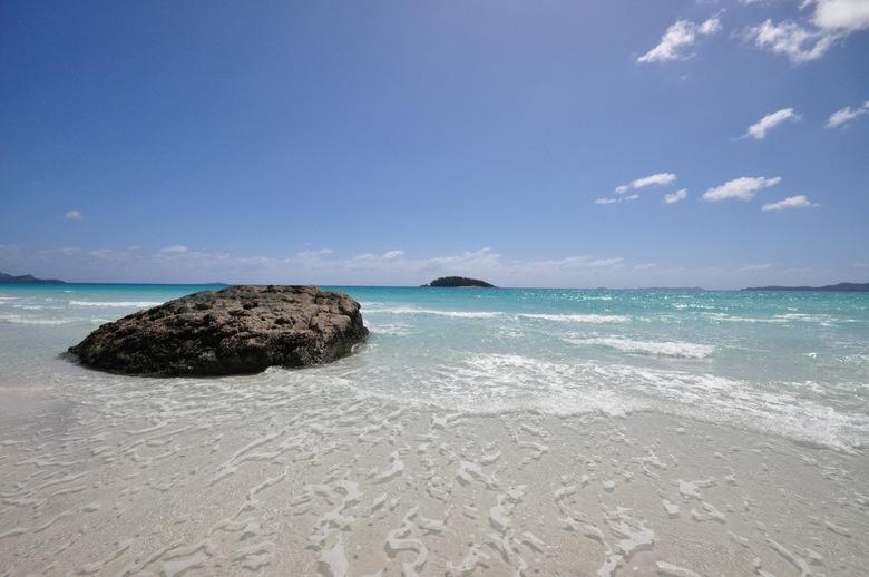 "Whitehaven Beach - Heel mooi strandje <img  src=""/images/smileys/wilt.png""/>"