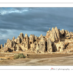 The rocks of Cappadocia