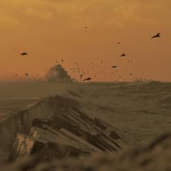 Storm IJmuiden aan Zee 1