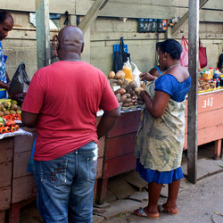 Suriname, markt Paramaribo