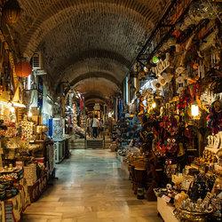 Markt in de catacomben van Izmir