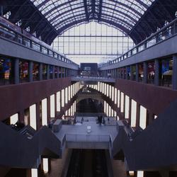 Antwerpen-Centraal van boven