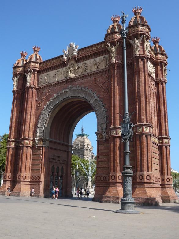 Arc the Triomf - ook in Barcelona staat er één