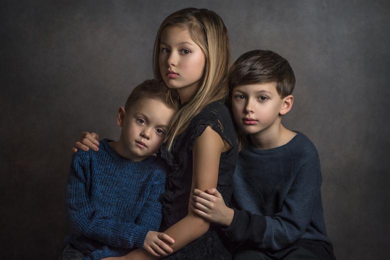Portret familieband - Puur studioportret van mijn kinderen