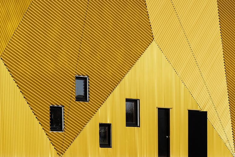 Munt 6 - Het nieuwe gebouw van de Munt in Houten.