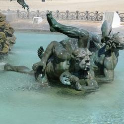 Bordeaux Girondins fontein 4.