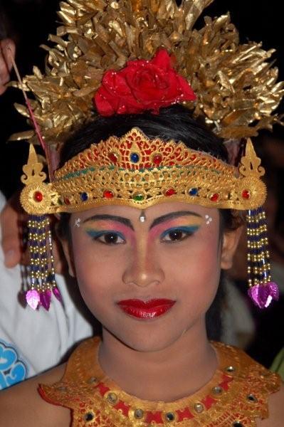 Bali danseres -