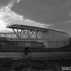 Maeslantkering - fietser