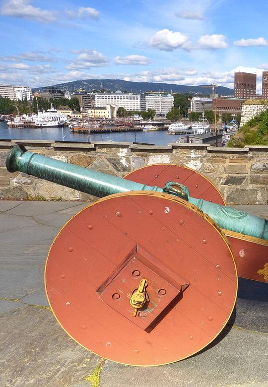 Oslo - Haven van Oslo Noorwegen.<br /> 28 augustus 2013.<br /> Groetjes Bob.