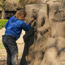 Zandsculpturen Orvelte