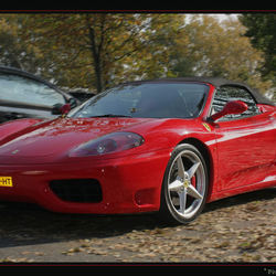 Ferrari rood...