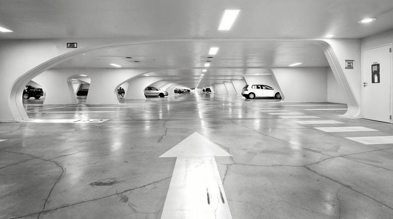 Bewerking - Parkeergarage Station Luik