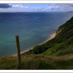 Jurassic coast. Sydmouth