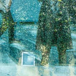spiegeling in glas