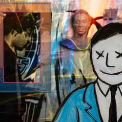 Collage Jean-Michel Basquiat