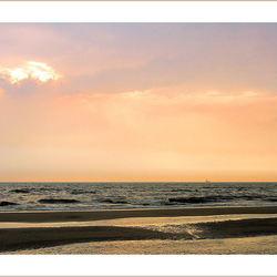 Aan het strand.....