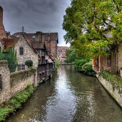 Grachtje in Brugge.
