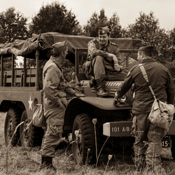Airborne luchtlanding en herdenking Ginkelse heide 2016
