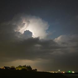 Melkweg naar de bliksem