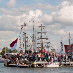 Sail 2010, De eerste dag
