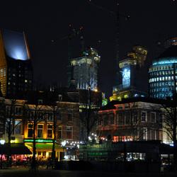 Den Haag bij avond