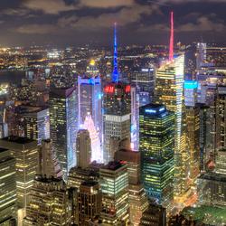 De lichtjes van New York