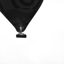 De luchtballon.