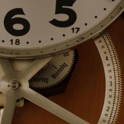 Portiersloge klok