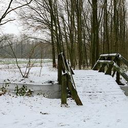 eindelijk weer wat sneeuw in nederland