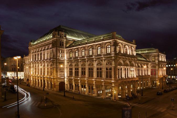 Opera Vienna - HDR Photo<br /> Opera - Vienna