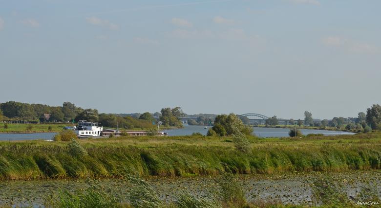 LANDSCHAP - Deze foto genomen van af de zalkerdijk bij zalk !