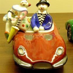 Ik ben die chauffeur natuurlijk, maar wie is toch mijn charmante gezelschap...