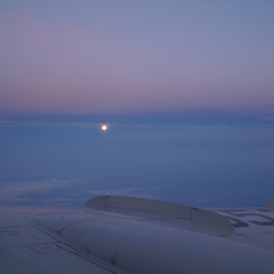 Sunset over Russia