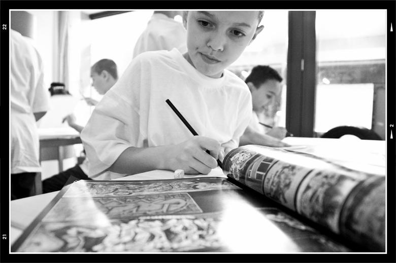 Workshop 1 - Ik heb het geluk dat ik mijn hobby ook tijdens mijn werk kan beoefenen. Ik maak nl voor mijn werkgever, woningstichting Weller, regelmati
