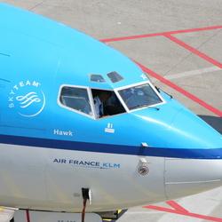 KLM Cockpit close up