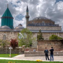 Mevlana museum in Konya (Turkije)