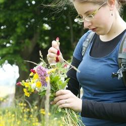 Barbara flower picking 06