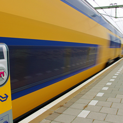 NS Trein op station Goes
