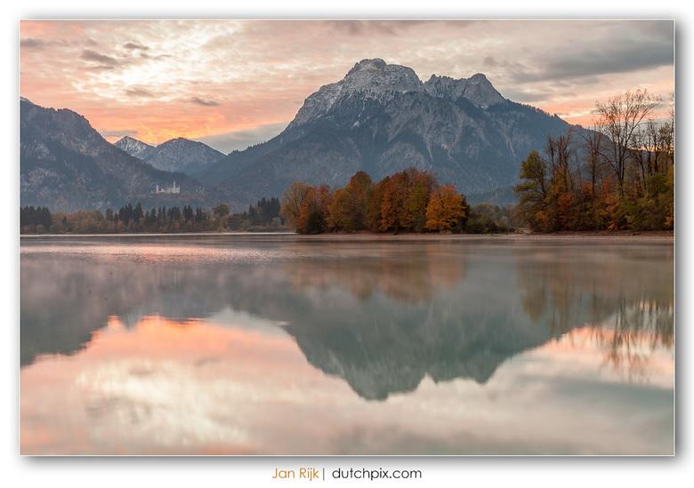 Neuschwanstein at dawn -