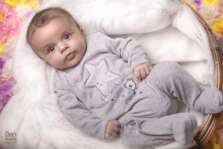 Soft baby bed -
