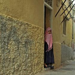 A girl in Tanger