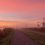 Misty Dutch Sunrise