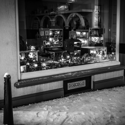 Window Shopping in Winter